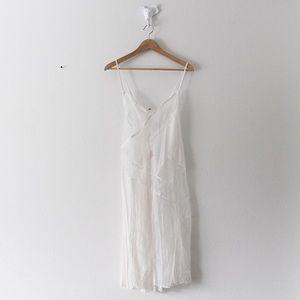 NWOT Victoria's Secret White Lace Slip Lingerie